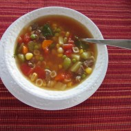 Autumn Day Hearty Vegetable Beef Soup