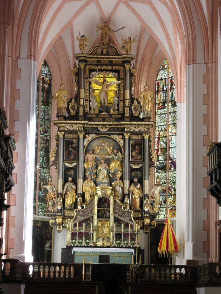 The Altar of the Mondsee Church.