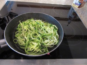 sauteed zoodles