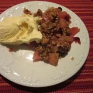 Harvest Cranberry and Pear Crisp
