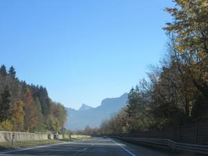Autobahn thru Austria