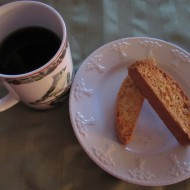 Hazelnut and Orange Biscotti