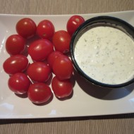 Seasoned Herb Dip with Parmesan Cheese