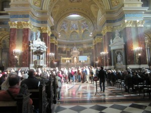 Mass at the Basilica