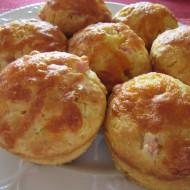 Cheddar n Ham Breakfast Muffins