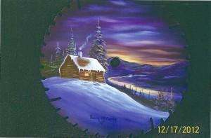 Winter Cabin Blade_Penny