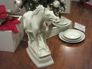 17,000 dollar Meissen Porcelin Horse