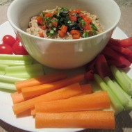 Garlicky Herb White Bean Dip