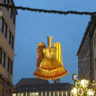 Christkindlmarkt in Nurnberg, Germany