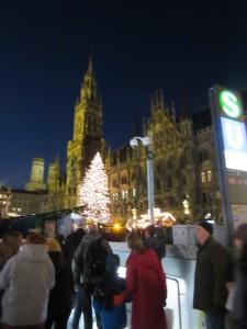 Marienplatz Night