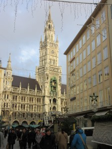 Marienplatz day
