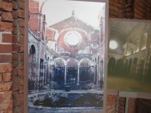 Bombed chapel