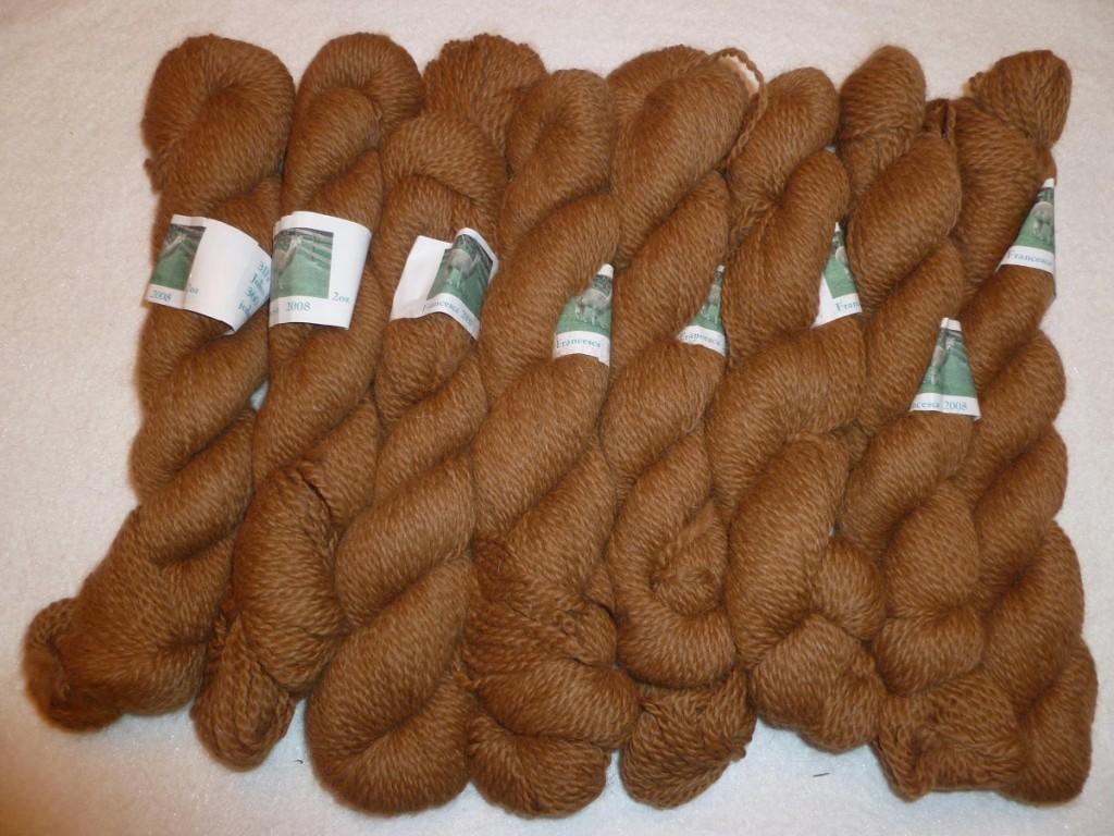 Brown Alapca Yarn