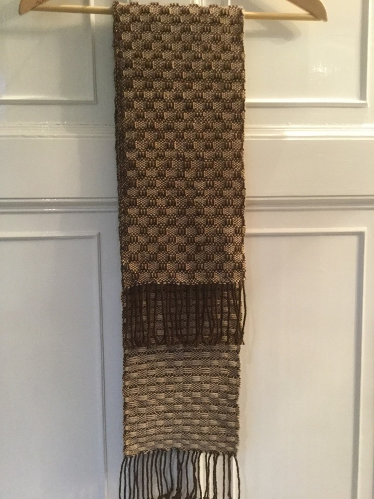 Brown and Tan scarf