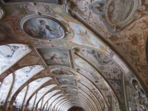 Ceiling in Antiquarium
