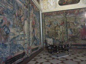 Centuries old tapestry's