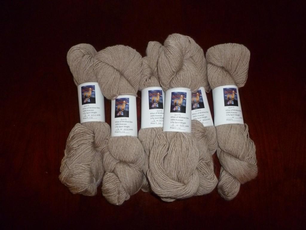 Fawn yarn 2