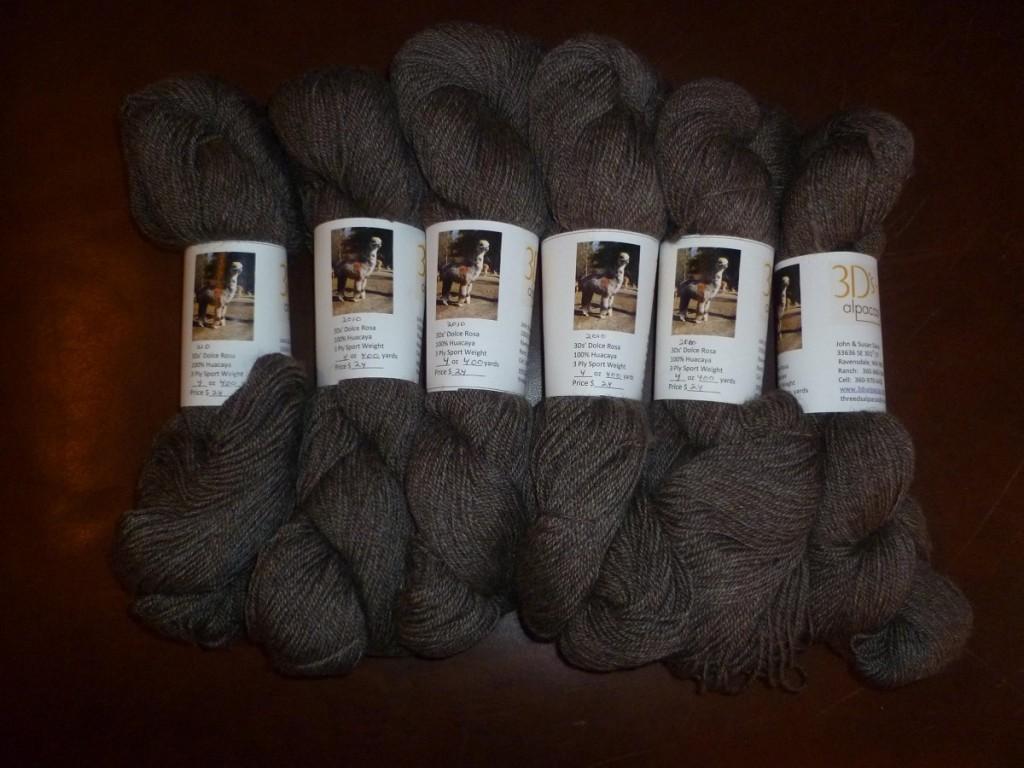 Grey Yarn