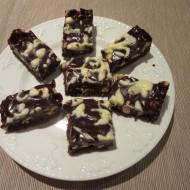 Chocolate Trinity Salted Peanut Bites