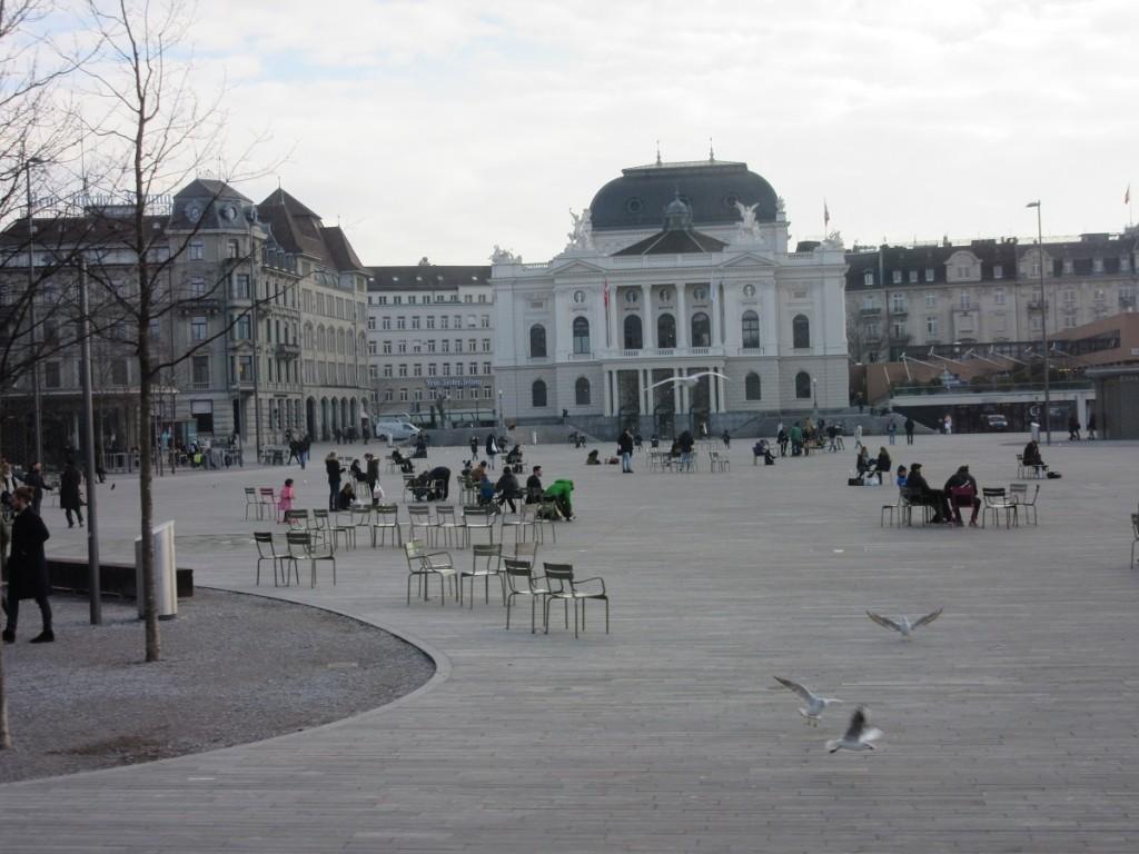 Opera House Platz