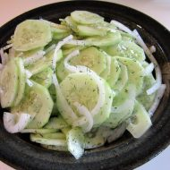 "German Cucumber Salad or "" Gurken Salat"""