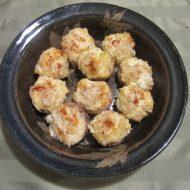 Crab, Artichoke Dip Stuffed Mushrooms