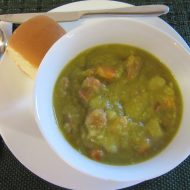 Split Green Pea Soup with Smoked Ham