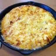 Herbed Cauliflower & Ham Fritatta