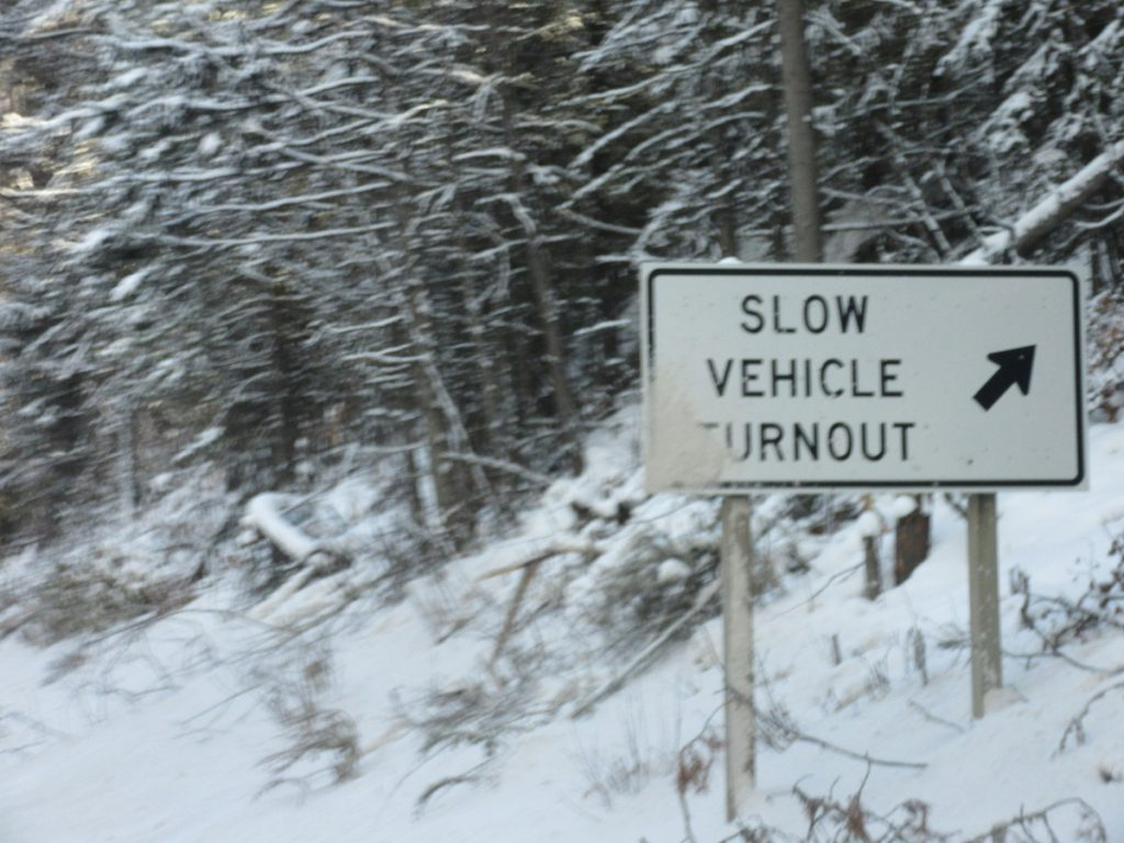 slow-vehicle