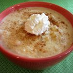 Rich and Creamy  Greek Rice Pudding