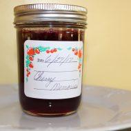 Making Cherry Jam with my Mom