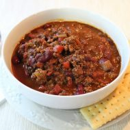 Karen's Family Favorite Chili