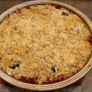 Blackberry Apple Crumble