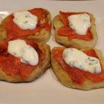 Smoked Salmon with Irish Potato Cakes