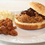 BBQ Pulled  Pork Slow Cooker Style