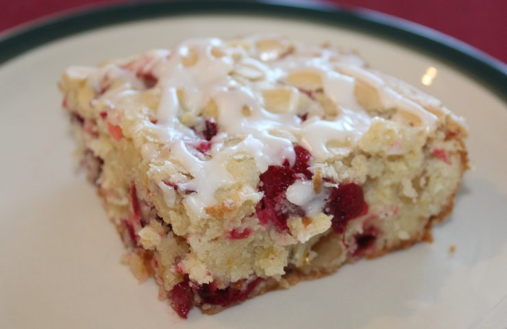 Holiday Cranberry Orange Cake