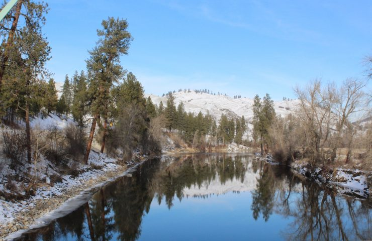 Winter on the Kettle River