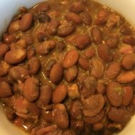 Old West Pinto Beans with Ham