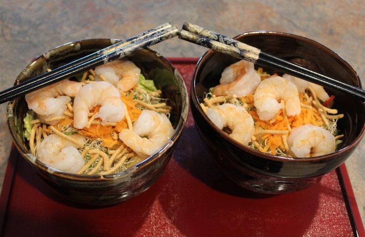 Cantonese Shrimp Salad Bowl