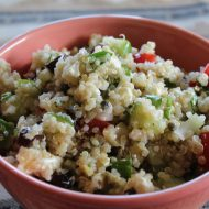 Summer Vegetable Salad with Quinoa