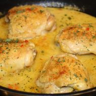 Jamaican Chicken in Coconut Milk