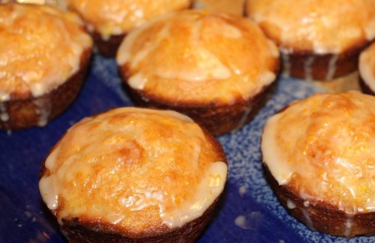 Orange Pineapple Whole Wheat Muffins