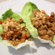 Asian Style Chicken Lettuce Wraps