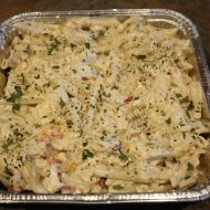 Scrumptious Creamy Chicken and Pasta