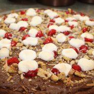 Chocolate Dessert Pizza