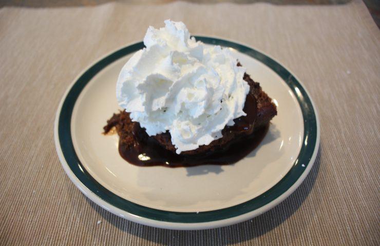 Mocha Chocolate Pudding Cake