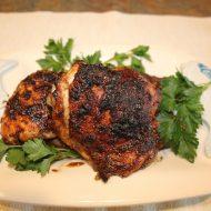 Balsamic Marinated Chicken Thighs