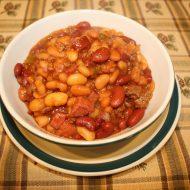 Hearty Four Bean Bake